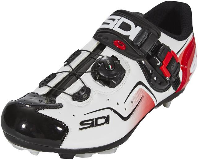 Sidi Cape Shoes Herren whiteblackred